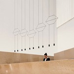 Wireflow 2 Light Pendant by Vibia