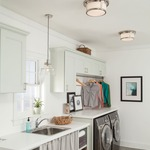 Woodward Warm Dim Ceiling Light Fixture by Feiss