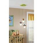 Zoo 3-Light Pendant by Philips