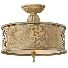 Carabel Semi Flush Ceiling Light