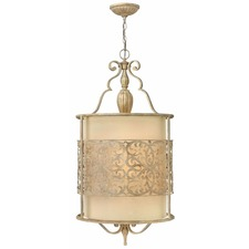 Carabel Foyer Pendant with Shade