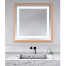 Momentum Square Lighted Mirror