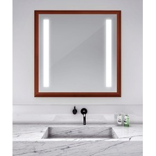 Reflection Lighted Mirror