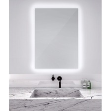 Serenity Rectangular Lighted Mirror