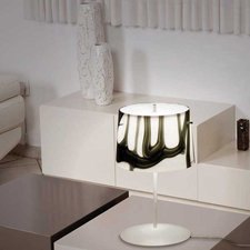 White And Black Table Lamp