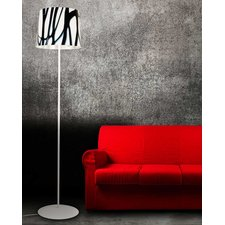 White And Black Floor Lamp