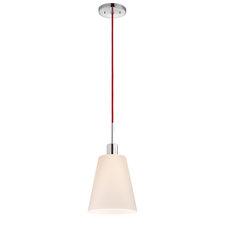 Glass Tall Cone Pendant