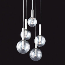 Bubbles 5 Light Pendant