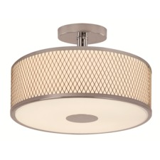 Diamond Grill Semi Flush Mount Ceiling