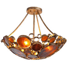 Fascination Semi Flush Ceiling Light