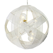 At Mesh Sphere Pendant