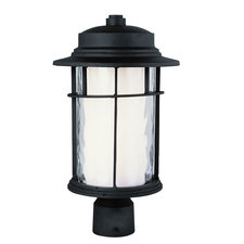 Opal Chimney Outdoor Post Top Lantern