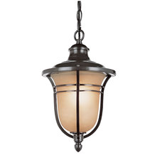 Amber Drop Outdoor Hanging Lantern