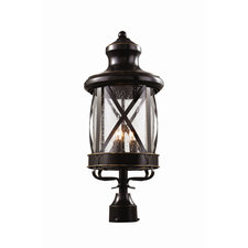 New England Coastal Medium Post Lantern