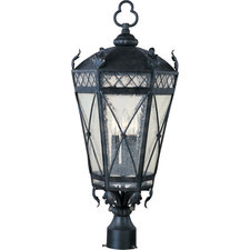 Canterbury Outdoor Post Mount Light