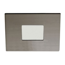 S4151 3 Inch Square Shower Trim With Square Pinhole Opening