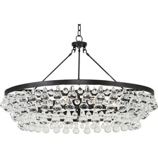 Bling Large Round Chandelier