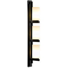 Ondrian Right Vertical 3 Light Wall Sconce
