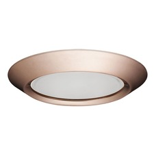 5101 Series 5 Inch Beveled Dome Frosted Lens Trim