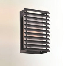 Shutters Outdoor Wall Sconce