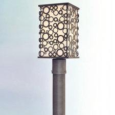 Aqua Exterior Post Lantern