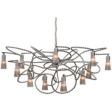 Sultans of Swing Oval Chandelier