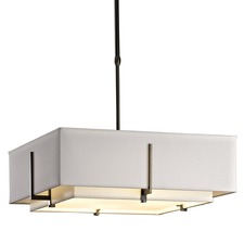 Exos Double Shade Square Pendant