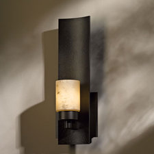 Eddy Short Glass Wall Light