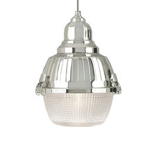 Freejack LED Mini Clybourn Prismatic Glass Pendant
