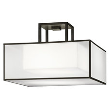 Black and White Story 330740 Semi Flush Mount