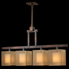 Quadralli Linear Chandelier