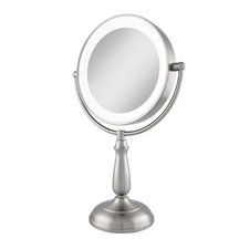Ultra Bright Dual Sided 1X/10X LED Light Vanity Mirror