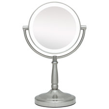 10x/1x Cordless Dual Sided LED Light Vanity Mirror