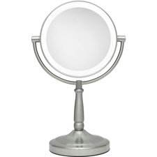 5x/1x Cordless Dual Sided LED Light Vanity Mirror