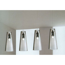 Cheope 4 Light Linear Pendant