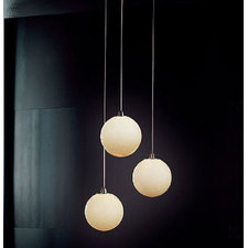 Bolle Small 3 Light Pendant