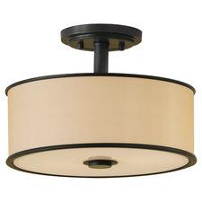 Casual Luxury Semi Flush Ceiling Light