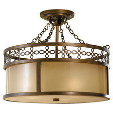 Justine Semi Flush Ceiling Light