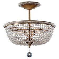 Dutchess Semi Flush Mount