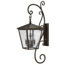 Trellis Scroll Outdoor Wall Sconce