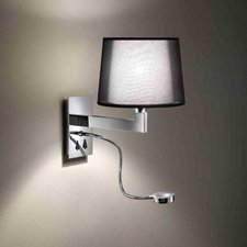 Lexa FL Vertical Backplate Wall Lamp