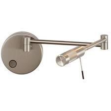 Cleo Right Swing Arm Wall Light