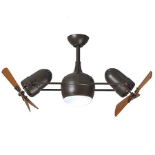 Dagny LK Wood Ceiling Fan with Light