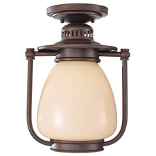 McCoy Outdoor Semi Flush Ceiling Light