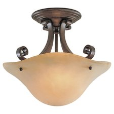 Tuscan Villa Semi Flush Mount