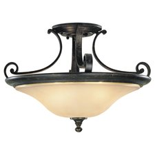 Cervantes 18 inch Semi Flush Ceiling Light