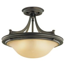 Pub Semi Flush Ceiling Light