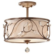 Priscilla Semi Flush Mount