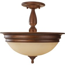 Yorktown Heights Semi Flush Ceiling Light
