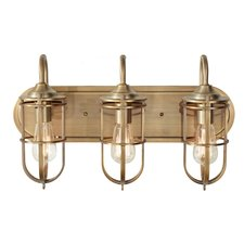 Urban Renewal 3 Light Bath Bar